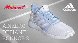 Lógico reptiles reservorio  adidas Adizero Defiant Bounce Shoe Review | Midwest Sports - YouTube