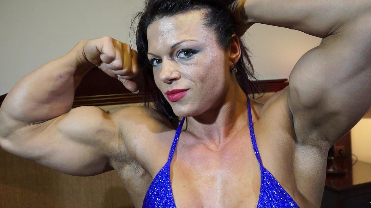Oana Hreapca the most muscular female bodybuilder - YouTube