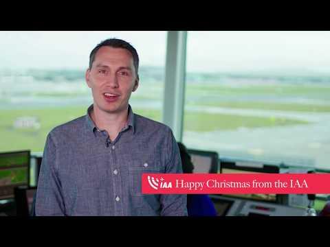 IAA - Irish Aviation Authority, Happy Christmas Messages - Unravel Travel TV