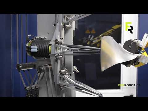 Belt sander with active force control for sensitive surface operations – FerRobotics