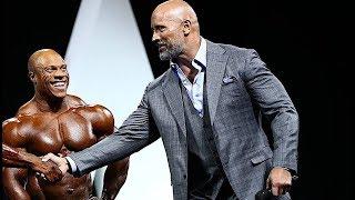 Дуэин Джонсон vs Мр. Олимпия. СКАЛАЗАХВАТЫВАЕТ IFBB!