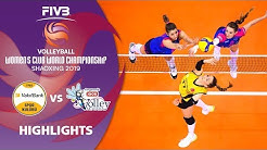 VakifBank Istanbul vs. Novara - Highlights | Women's Volleyball Club World Champs 2019
