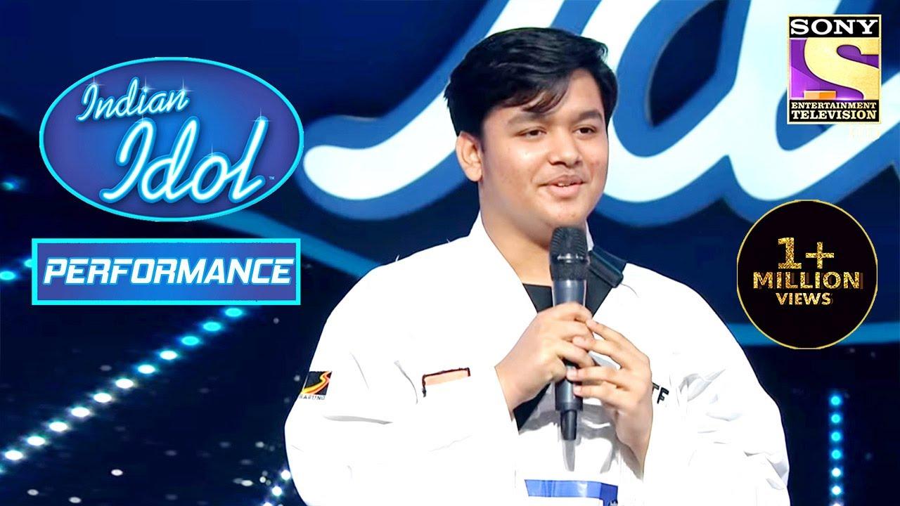 Download Taekwondo Player Samyak ने जीता Judges का दिल! | Indian Idol Season 12