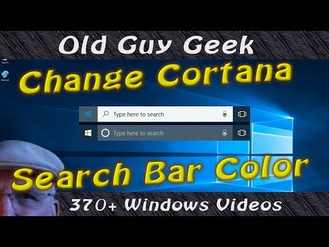 Fix Cortana White Search Box The Right Way.  Without Editing the Registry.
