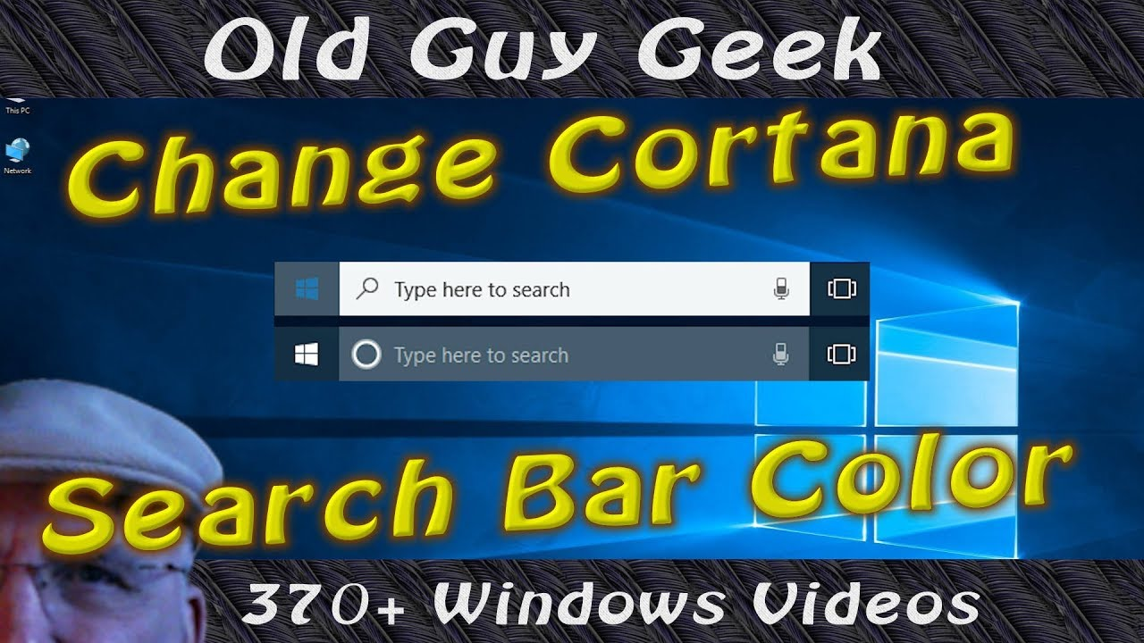 Fix Cortana White Search Box The Right Way. Without Editing the