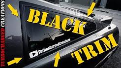 Painting Your Trim Black! (SEM)