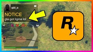 GTA GOT LIGMA LOL Message Appearing To ALL GTA Online Players - EXPLAINED! (GTA 5 Online)