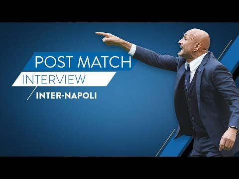 INTER NAPOLI | Post match reaction from Luciano Spalletti