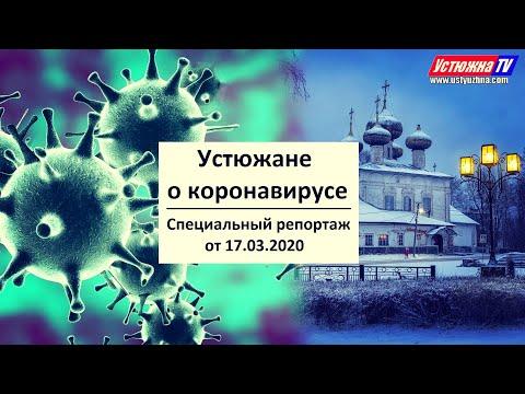 Устюжане о коронавирусе (СПЕЦИАЛЬНЫЙ РЕПОРТАЖ от 17.03.2020)