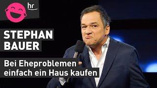 Stephan Bauer: Wenn das Haus abbezahlt ist, bin ich tot