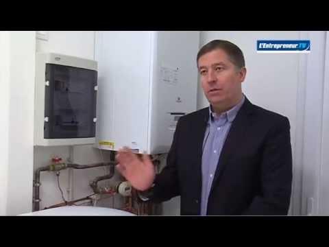 Solution de chauffage RT2012 à énergie solaire + gaz - Saunier Duval