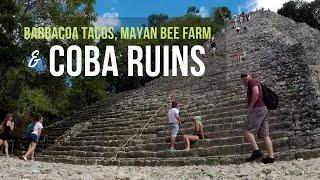 Coba Ruins, Barbacoa Tacos, and Melipona Mayan Bees || Long Term Travel MEXICO || AT HOME ON THE GO