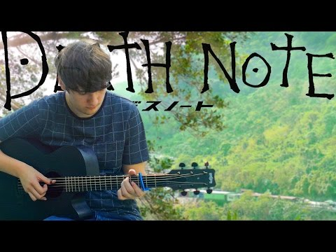Death Note Opening 1 - The World - Fingerstyle Guitar Cover