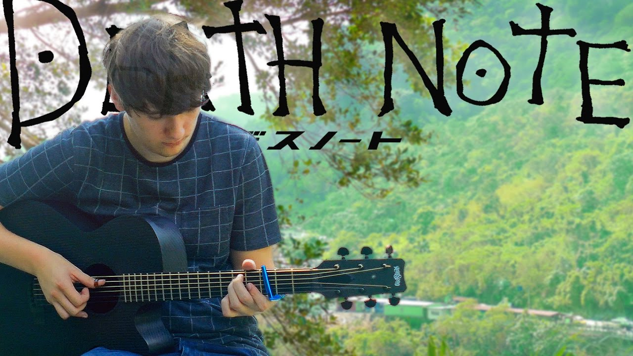 Google themes death note - Death Note Opening 1 The World Fingerstyle Guitar Cover By Eddie Van Der Meer