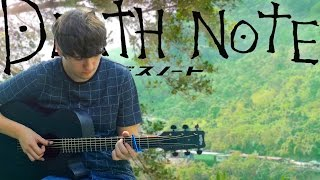 Video Death Note Opening 1 - The World - Fingerstyle Guitar Cover download MP3, 3GP, MP4, WEBM, AVI, FLV Juli 2018