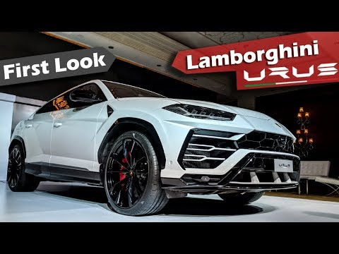 Lamborghini Urus SUV India - First Look | Hindi | ICN Studio