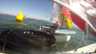 Weta Trimarans North Americans 2014