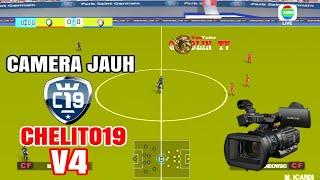 Mantap!....PES Chelito19 V4 update Camera Jauh!, + Cara pasang, dijamin mirip PES PS3   GoblinTV