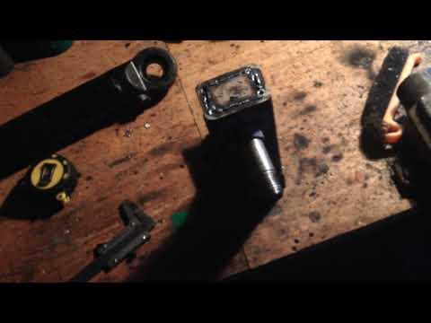 установка насос дозатора на тарктор т 25. один НШ на дозатор и распределитель  (часть 1)