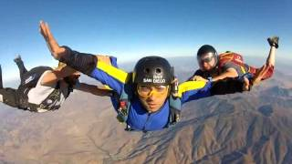 Accelerated Freefall - AFF Level 1 - Anderson - Skydiving San Diego