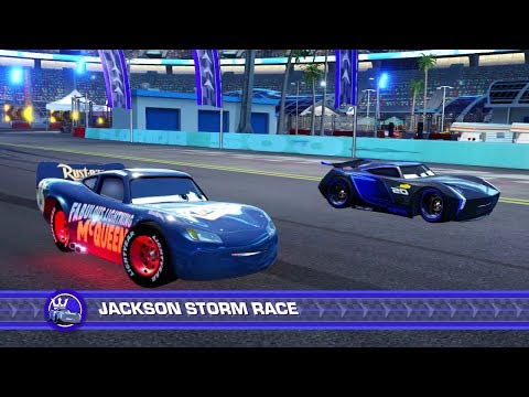 Thumbnail: Cars 3: Driven to Win (PS4) - Fabulous Lightning McQueen (SPOILERS) vs. Jackson Storm (Hard)