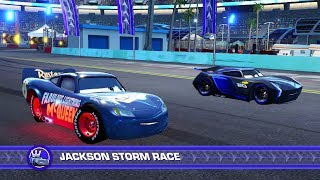Cars 3: Driven to Win (PS4) - Fabulous Lightning McQueen (SPOILERS) vs. Jackson Storm (Hard)