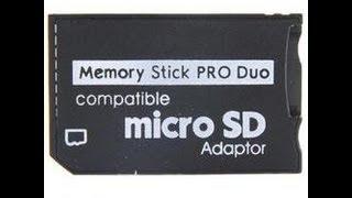 Обзор переходника с Micro SD на Memory Stick Pro Duo, Micro SD 2 Memory Stick Pro Duo Adapter review