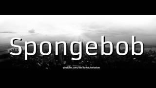 How to pronounce Spongebob in German