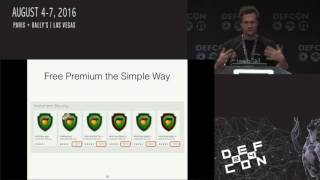 DEF CON 24 - Stephan Huber and Siegfried Rasthofer - Smartphone Antivirus and Apps
