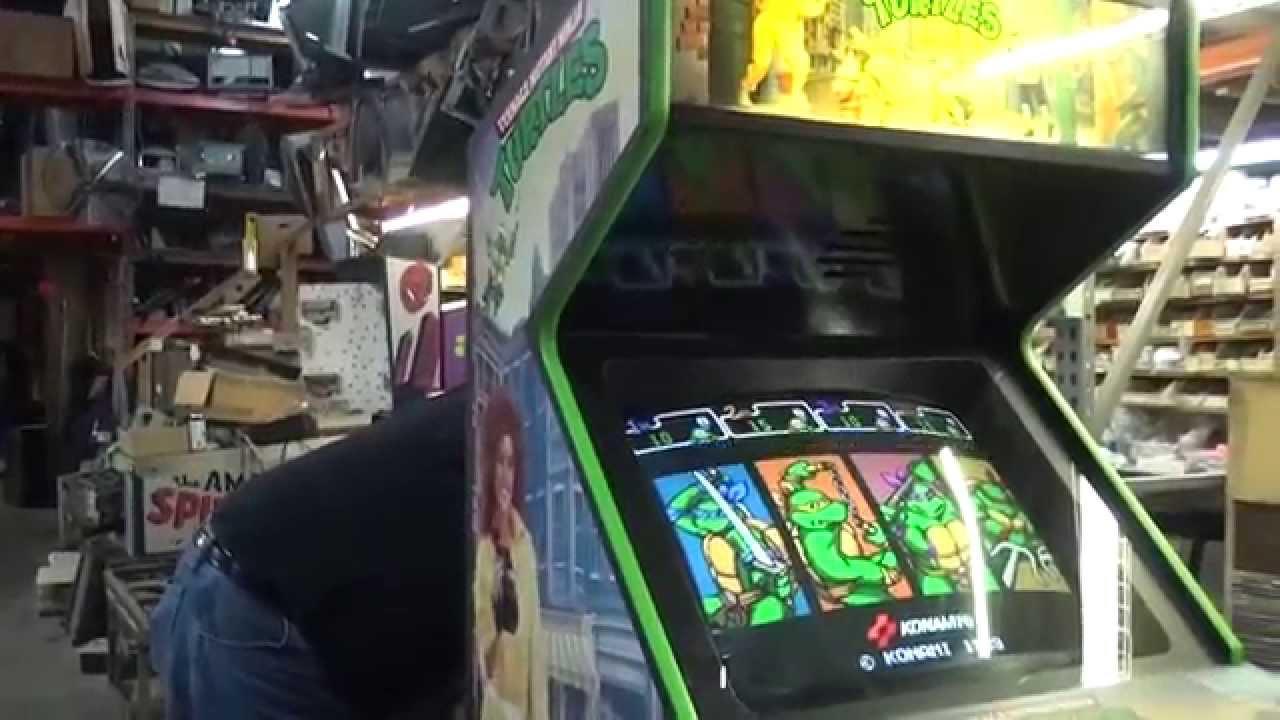 Ninja Turtles Arcade Cabinet 590 Konami Tmnt Arcade Video Game Overhaul Plus Stereo Conversion