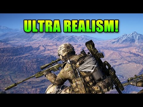 Ultra Realism Mode - No HUD! | Ghost Recon Wildlands Unidad