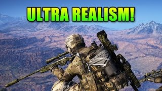 Ultra Realism Mode - No HUD! | Ghost Recon Wildlands Unidad Consipracy