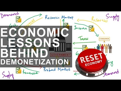 7 Hidden Economics Lesson Behind Demonetization 1000 500 notes