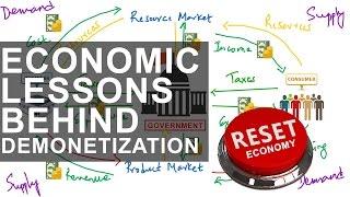 7 Hidden Economics Lesson Behind Demonetization in India
