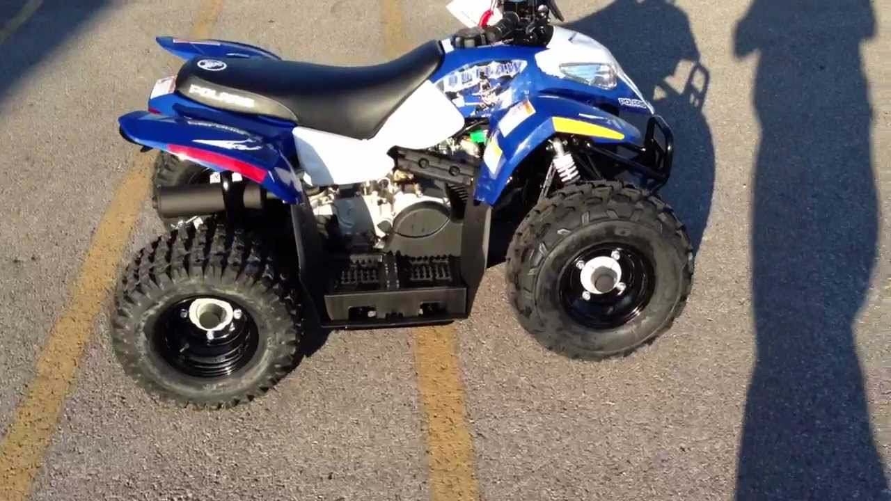 2013 Polaris Outlaw 50 In Blue At Tommy U0026 39 S Motorsports