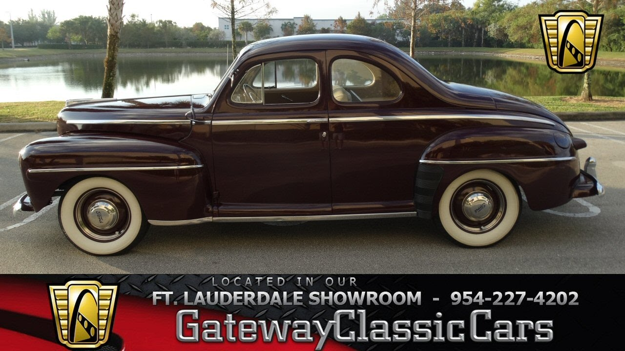 258-ftl 1947 ford business coupe super deluxe
