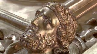 Во Флоренции воссоздают шедевр эпохи Возрождения (новости)(http://ntdtv.ru/ Во Флоренции воссоздают шедевр эпохи Возрождения. Литейная мастерская на окраине Флоренции. Здес..., 2015-11-23T12:58:48.000Z)
