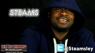 STEAMS SAYS FUC* TRAPHOUSE, WE GO HARD IS THE # 1 LEAGUE - I WANT J MURDA NEXT