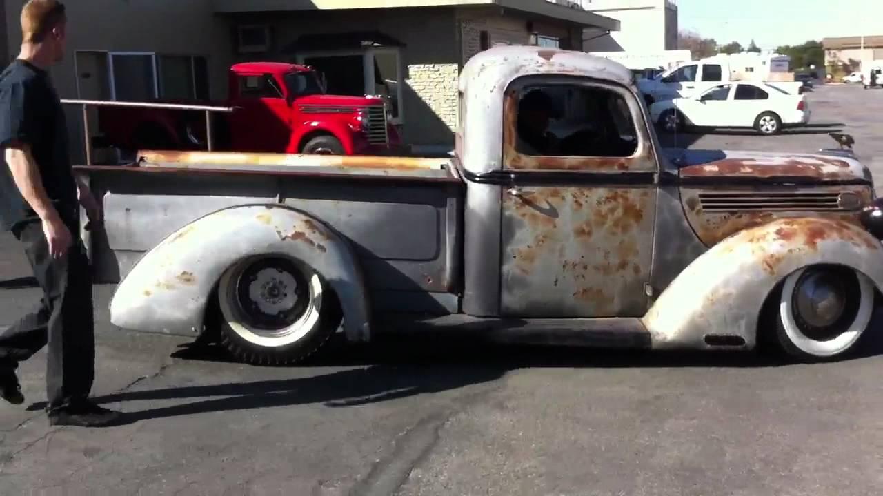 1939 ford pickup testing - YouTube
