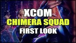 XCOM: Chimera Squad - Gameplay First Look - Alien/Human Peace Through Destruction #sponsored