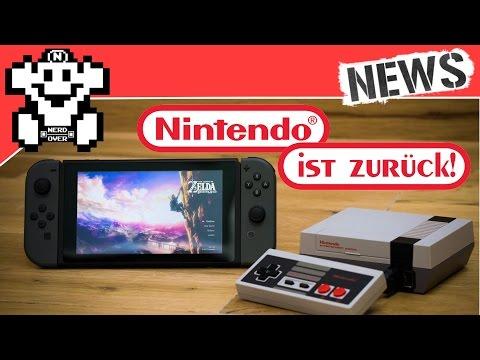 Nintendo ist zurück! - Xbox Scorpio kommt zum Kampfpreis? - NerdNews #119