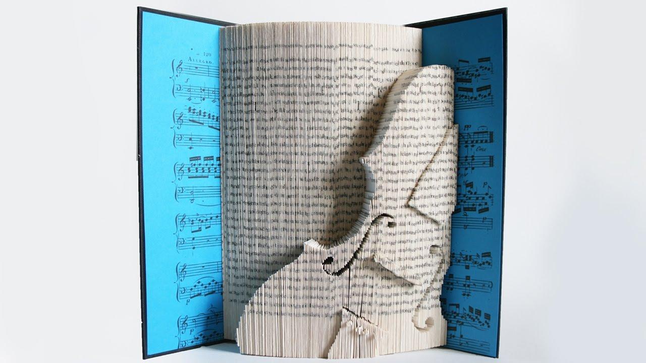 Origami violin beetle by Manuel Sirgo - YouTube | Origami violin ... | 720x1280