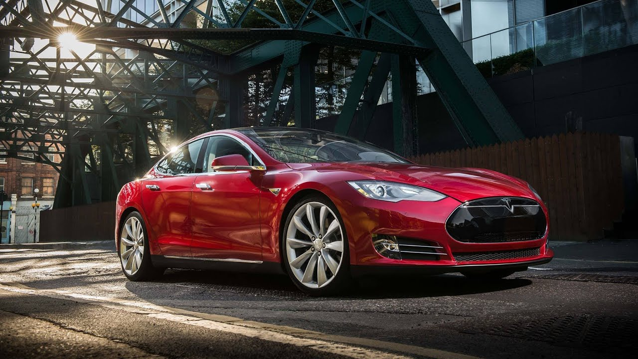 Tesla S ШОК 10 фишек Теслы Tesla S - YouTube