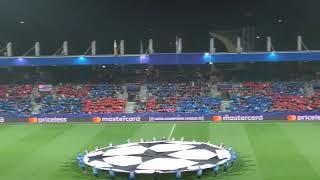 FC Viktoria Plzeň - Real Madrid CF (celostadionové choreo)