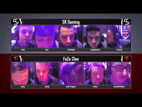 ELEAGUE Major 2017 – Quarter-Finals, SK Gaming vs. FaZe Clan BO3: Full Match