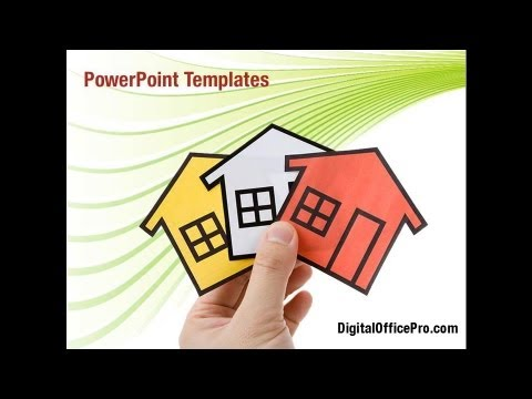 Real Estate Property Powerpoint Template Backgrounds