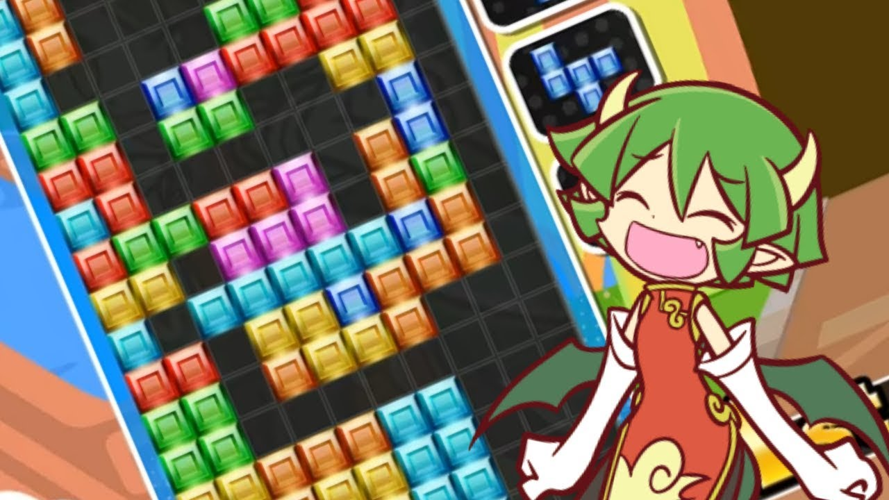 Puyo Puyo Tetris] T-Spin Triple but in fusion by Lilla Oshisaure