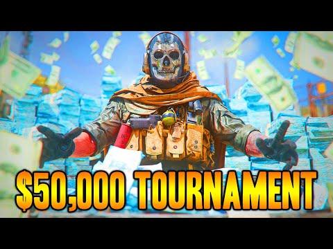$50,000 WARZONE TOURNAMENT (100+ Kill Attempts)