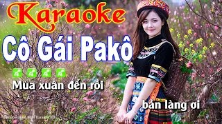 Karaoke Nhạc Sống Cô Gái Pakô