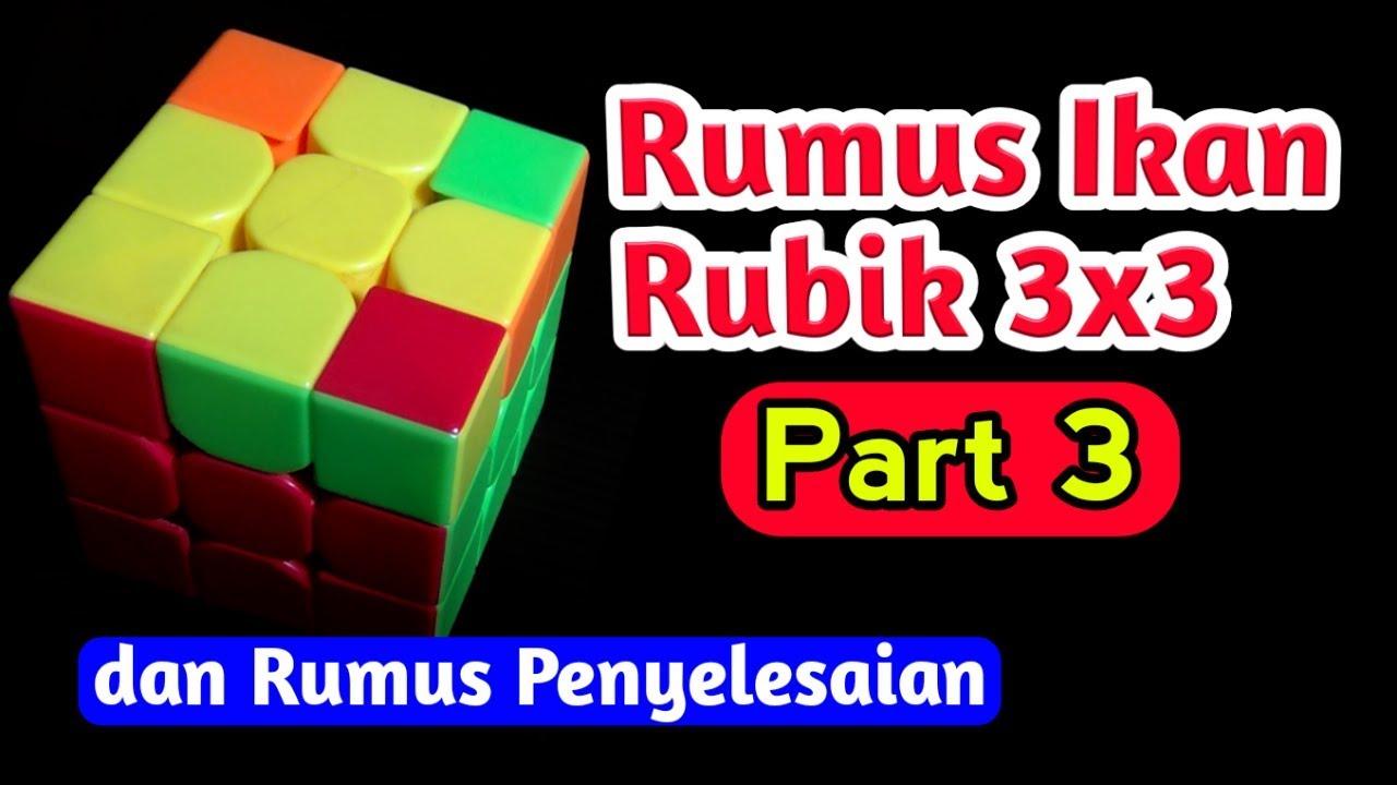 Rumus Rubik 3x3 Untuk Pemula Part 3 Youtube